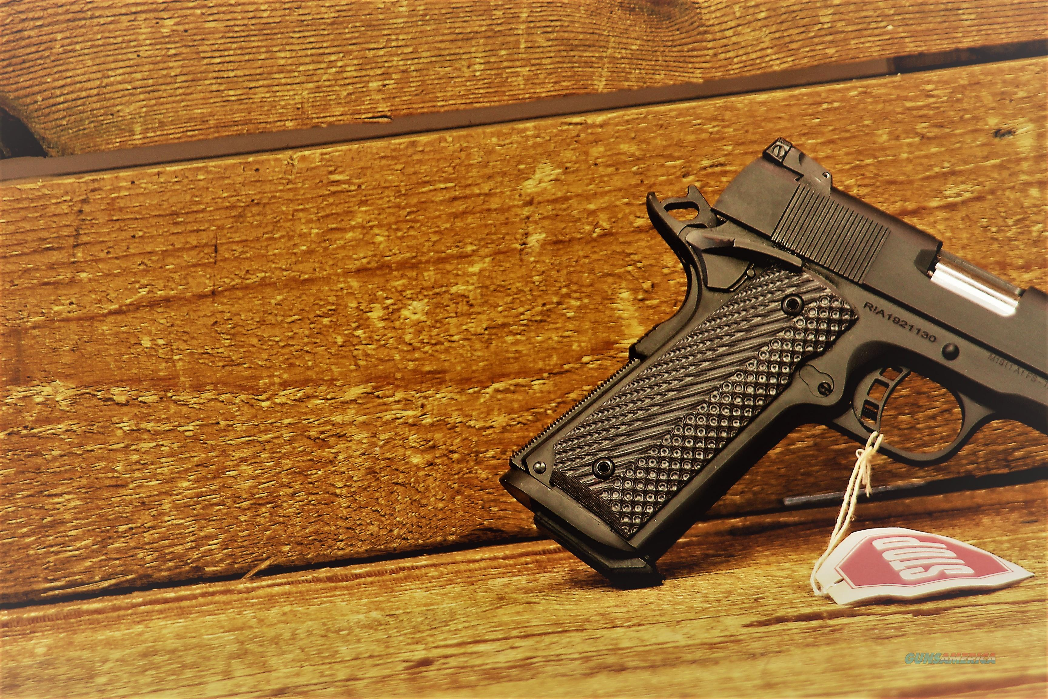 EASY PAY $56 DOWN LAYAWAY 12 MONTHLY PAYMENTS Armscor Rock Island Armory  RIA Battle Proven Design 1911A1 1911 A1 10mm RIA standard 1911-A1  parkerized