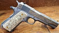 Colt Dave Riccardo Engraving 1 of 400 Made Circa 2012 Walnut /Glass Display /EZ PAY $164