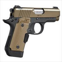 EASY PAY $62 LAYAWAY  KIMBER MICRO operation of a 1911 380 ACP DESERT TAN 3300177