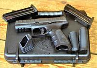 "1. EASY PAY $49 DOWN LAYAWAY  Beretta Concealable APX 9mm 4.25"" Barrel 17 Rounds Polymer Frame Black chassis reversible magazine Interchangeable backstraps Ambidextrous slide stop JAXG921"