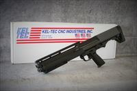 "12 Gauge Kel-Tec KSG Pump Action Shotgun 18.5"" Barrel 2-3/4"" Chamber 14 Rounds Black Synthetic Stockshape and design are similar to the  Kel-Tec RFB EASY PAY  $74 LAYAWAY"
