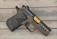 $54 EASY PAY Kimber Micro 9 ESV 9mm Conceal Carry Boot Carry  Tritium Night Sights Black TiN Gold  7rd Stainless steel 3300199