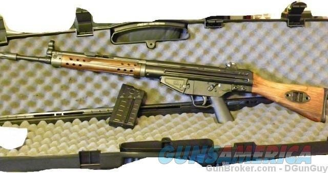 PTR-91 Classic Wood HK-91 Replica 308 7 62  308 Winchester 18