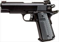 EASY PAY $54 DOWN LAYAWAY 12 MONTHLY PAYMENTS Armscor Rock Island Armory 1911 10mm  RIA standard 1911A1  1911-A1  parkerized enhanced SIGHTS VZ Operator II G-10 Grips Fiber Optic Front Sight Tactical II 51991