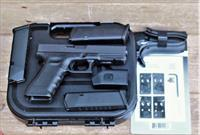 "EASY PAY $59 DOWN LAYAWAY 12 MONTHLY  PAYMENTS  GLK GLOCK 17 MOS Modular Optics System Polymer Poly G-17 G17 Gen 4 9mm Gen4 reversible magazine  4.48"" Barrel 17 Rounds rds Optics Black  Police military competition ect PG1750203MOS"