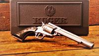 EASY PAY $72 DOWN LAYAWAY 12 MONTHLY PAYMENTS Ruger Super Blackhawk Hunter Exclusive Revolver .41 Mag Caliber KS-417NH Stainless Steel RUG Smooth Black Laminated Wood Ramp Rear Adjustable