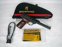 "Browning Buckmark Hunter Matte/Lam 22lr 7.25"" NEW #051499490"