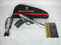 "Browning Buckmark Plus UDX 22lr 5.5"" Stainless NEW #051531490"
