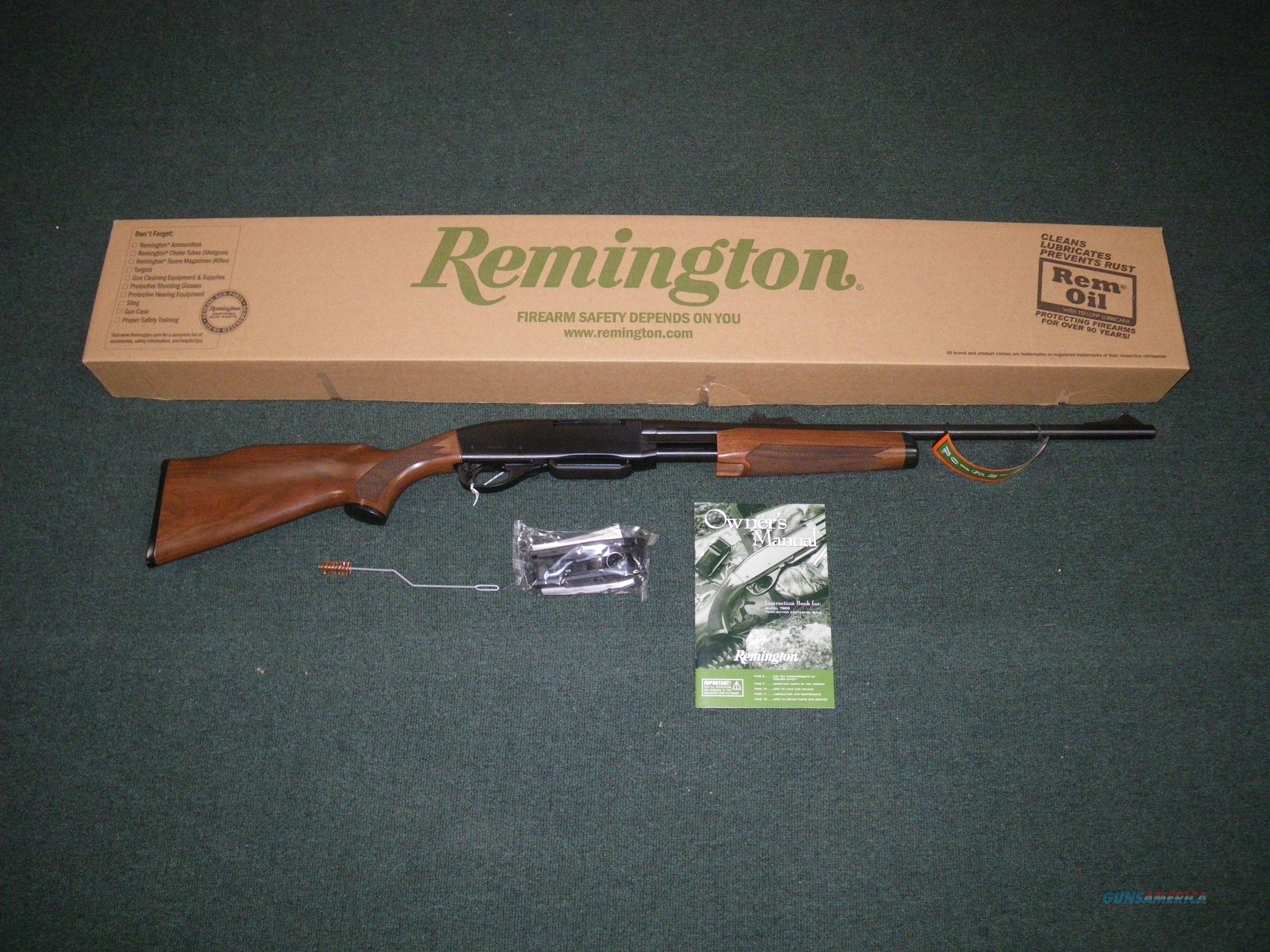 Remington 7600 Pump-Action Rifle 30-06 22