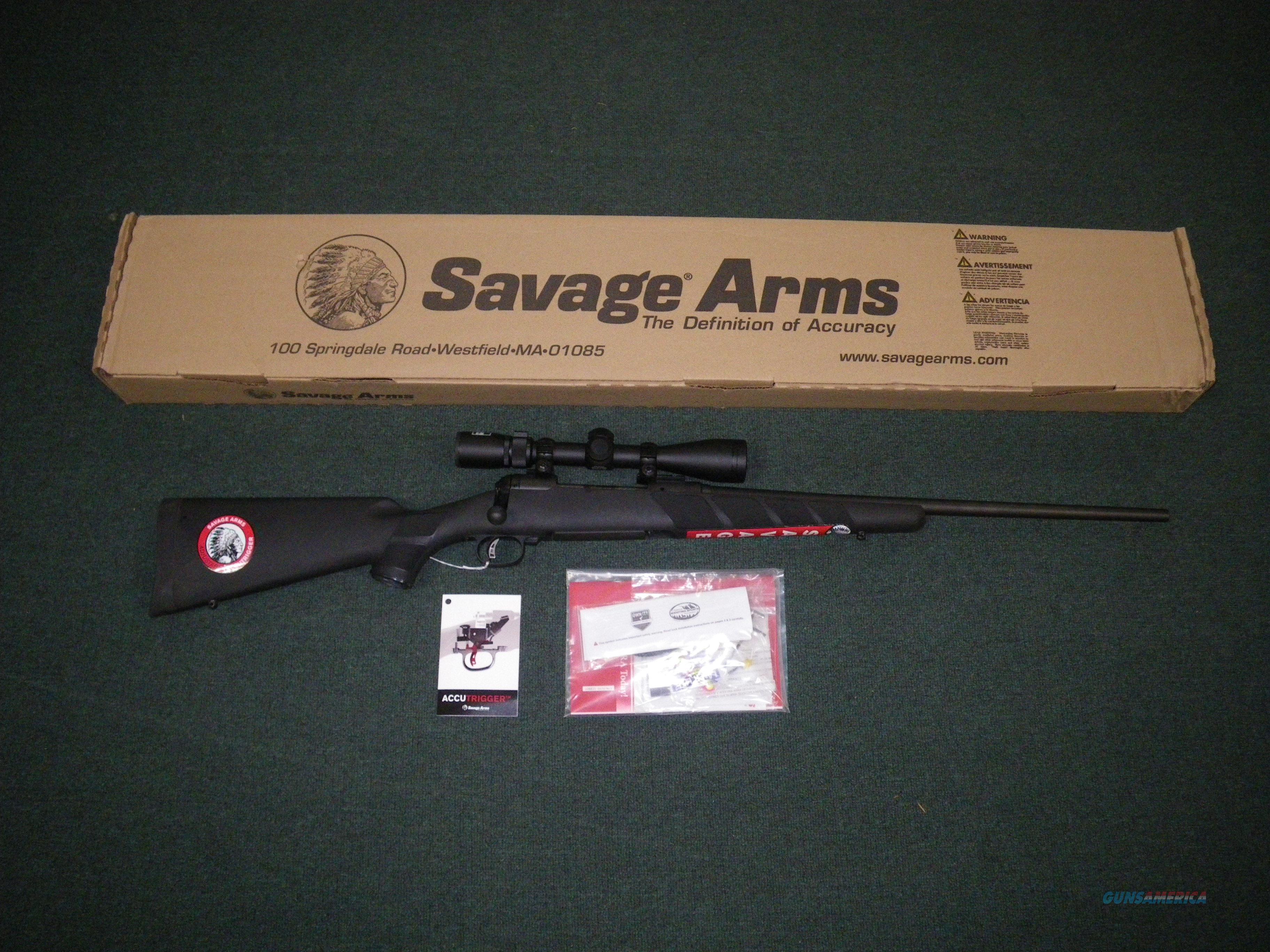 Savage 111 Trophy Hunter XP Black 223 Rem 22