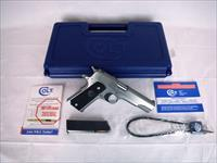 "Colt Government 1991 Series 45ACP 5"" Stainless NEW #O1091"