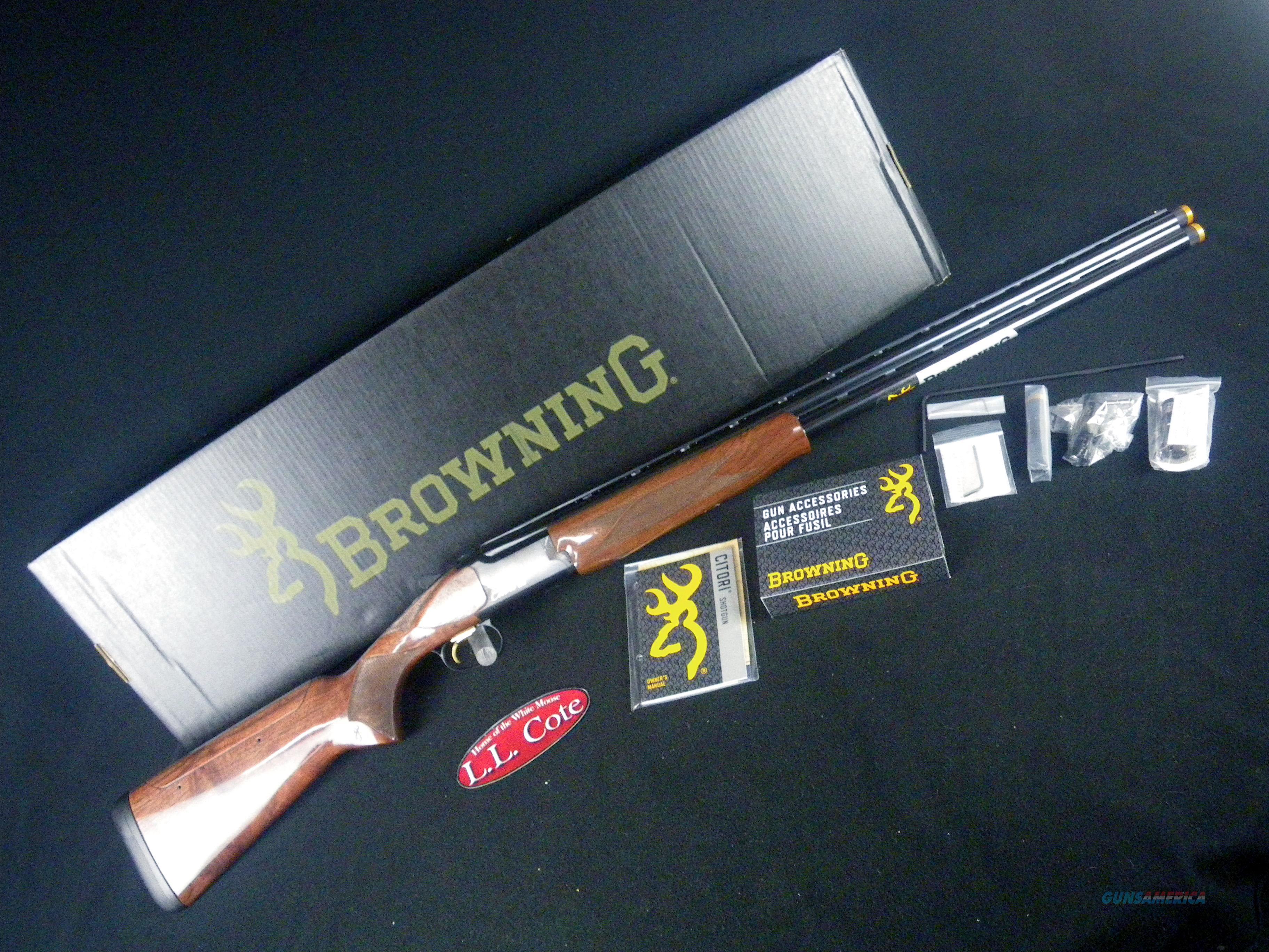 Browning Citori CXS Adjustable Comb 12ga 30