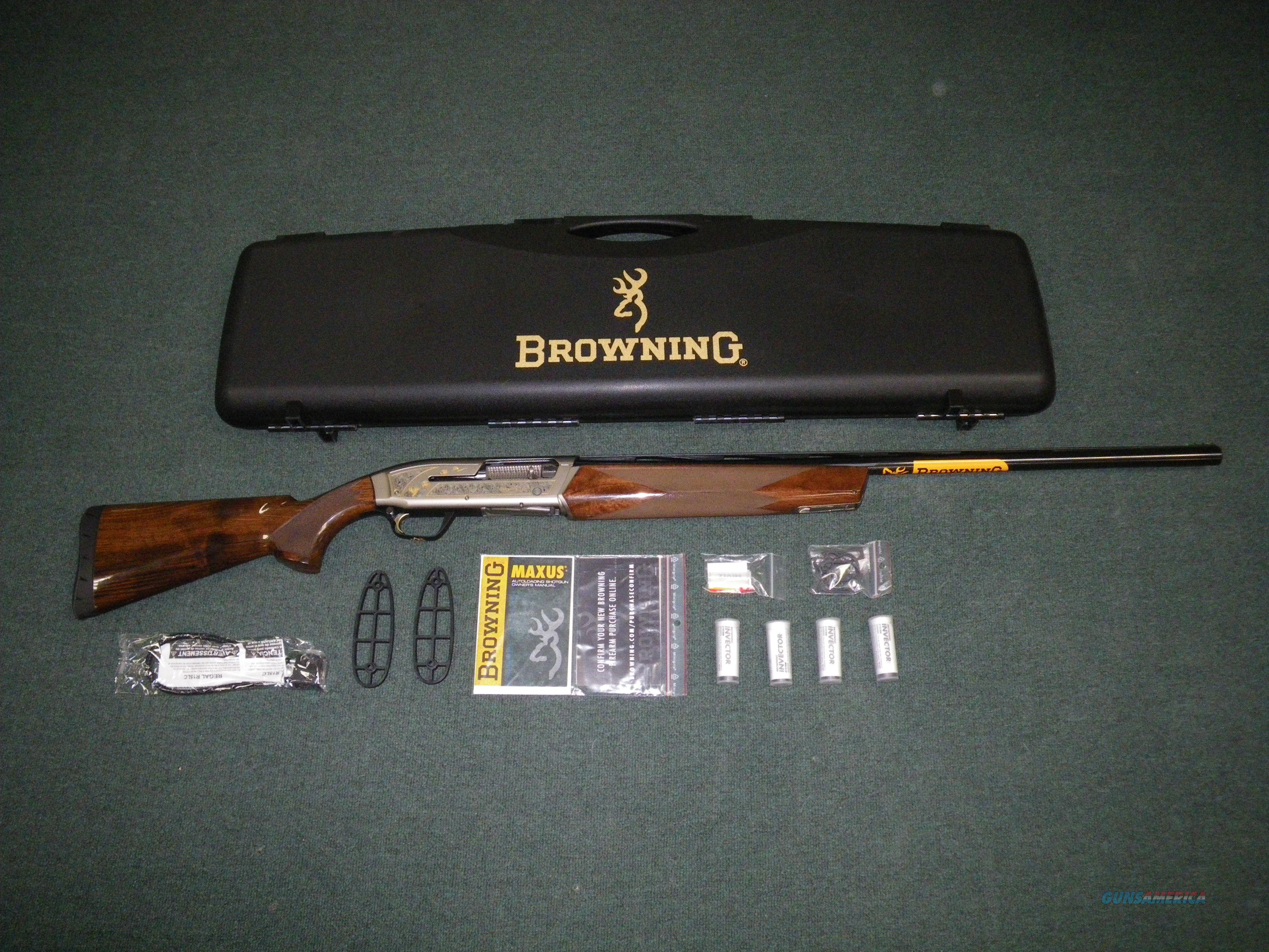 Browning Maxus Sporting Golden Clays 12ga 30 N For Sale