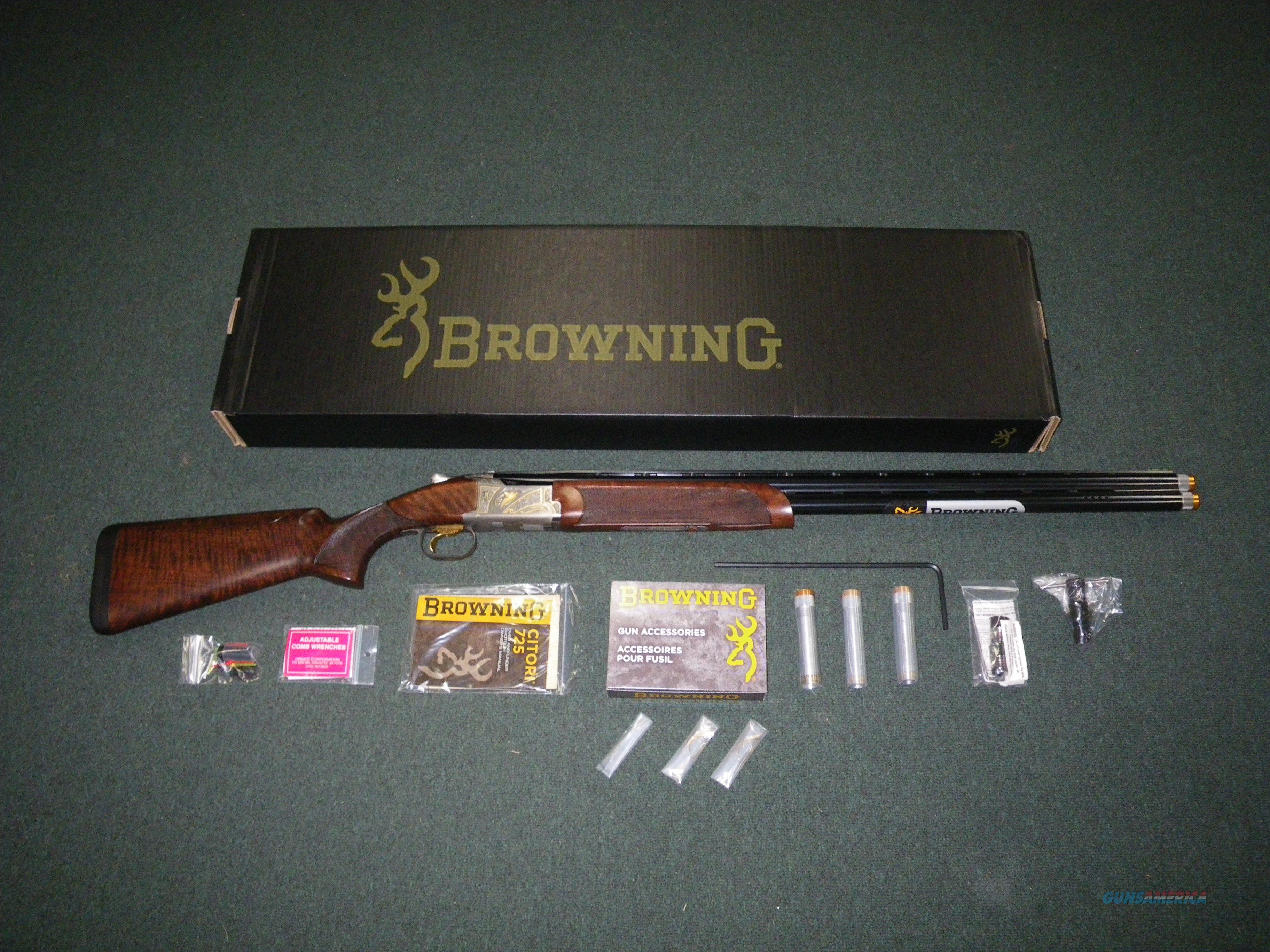 Browning Citori 725 Sporting Golden Clays 12ga 32