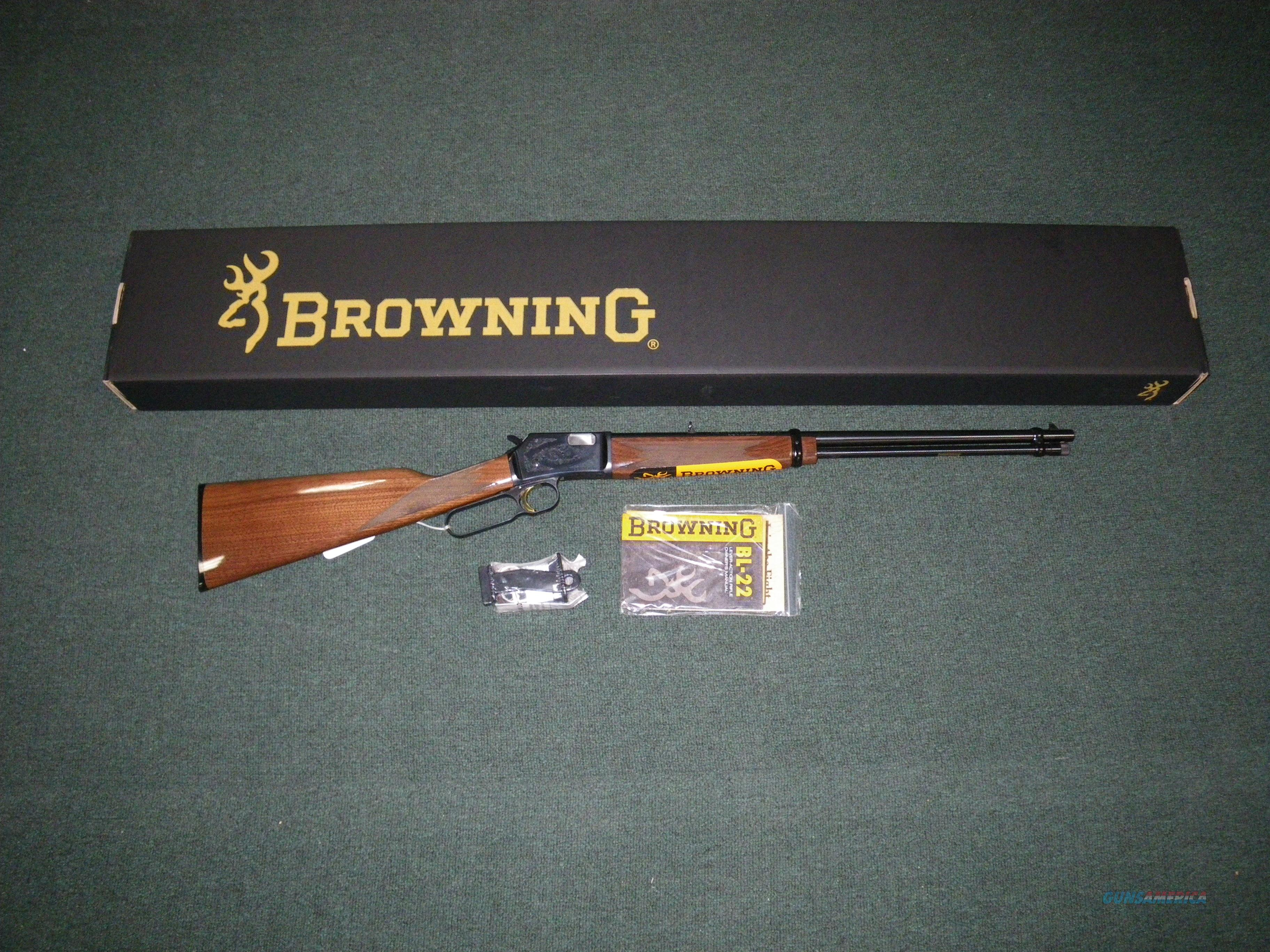 Browning BL-22 Grade II Lever Action 22lr 20