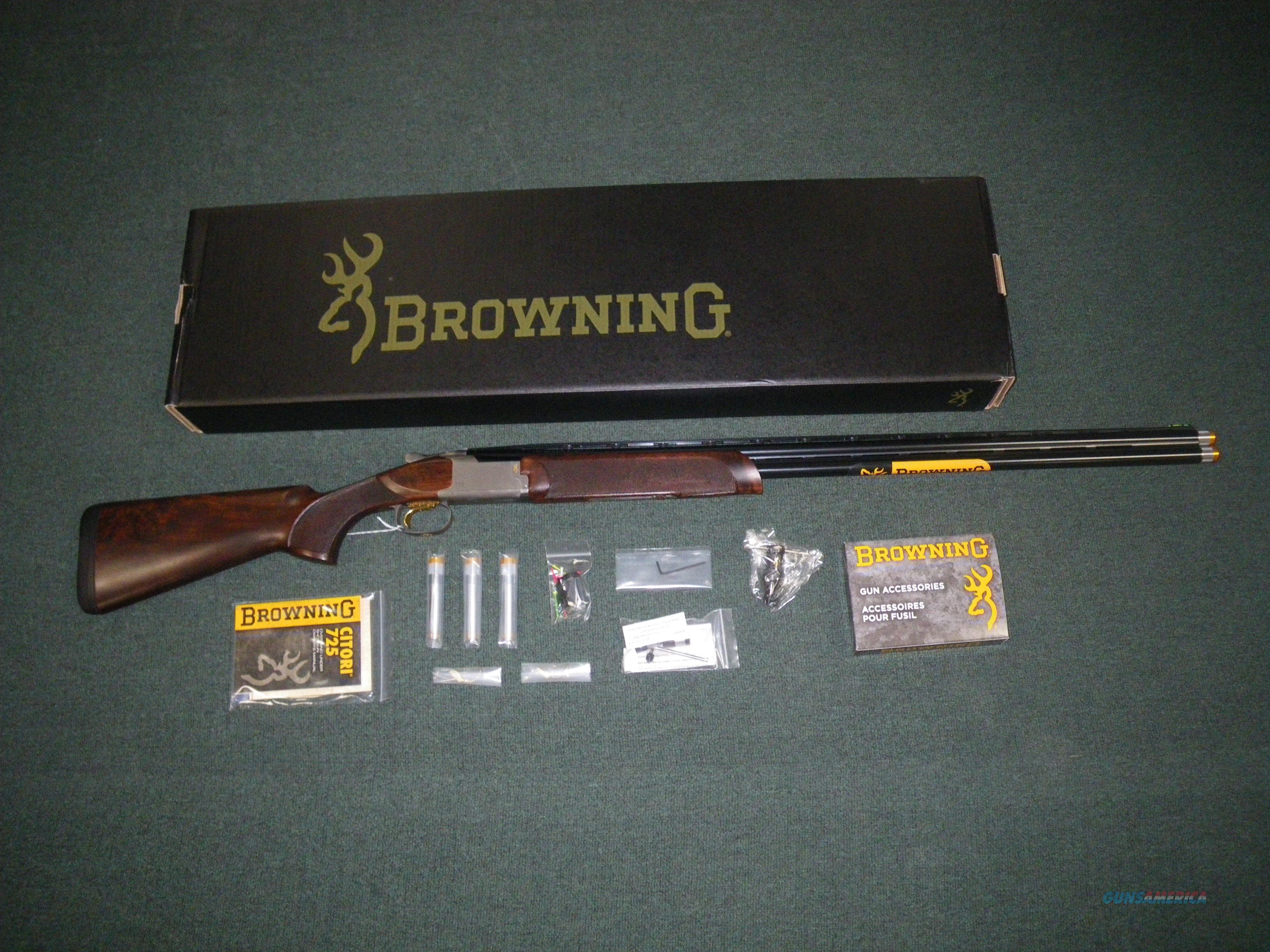 Browning Citori 725 Sporting 20ga 30