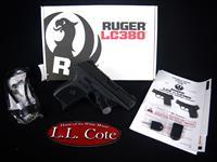 Ruger LC380 380ACP 3.12