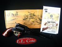 "Uberti 1858 New Army Revolver 44cal 8"" Blued NEW 341000"