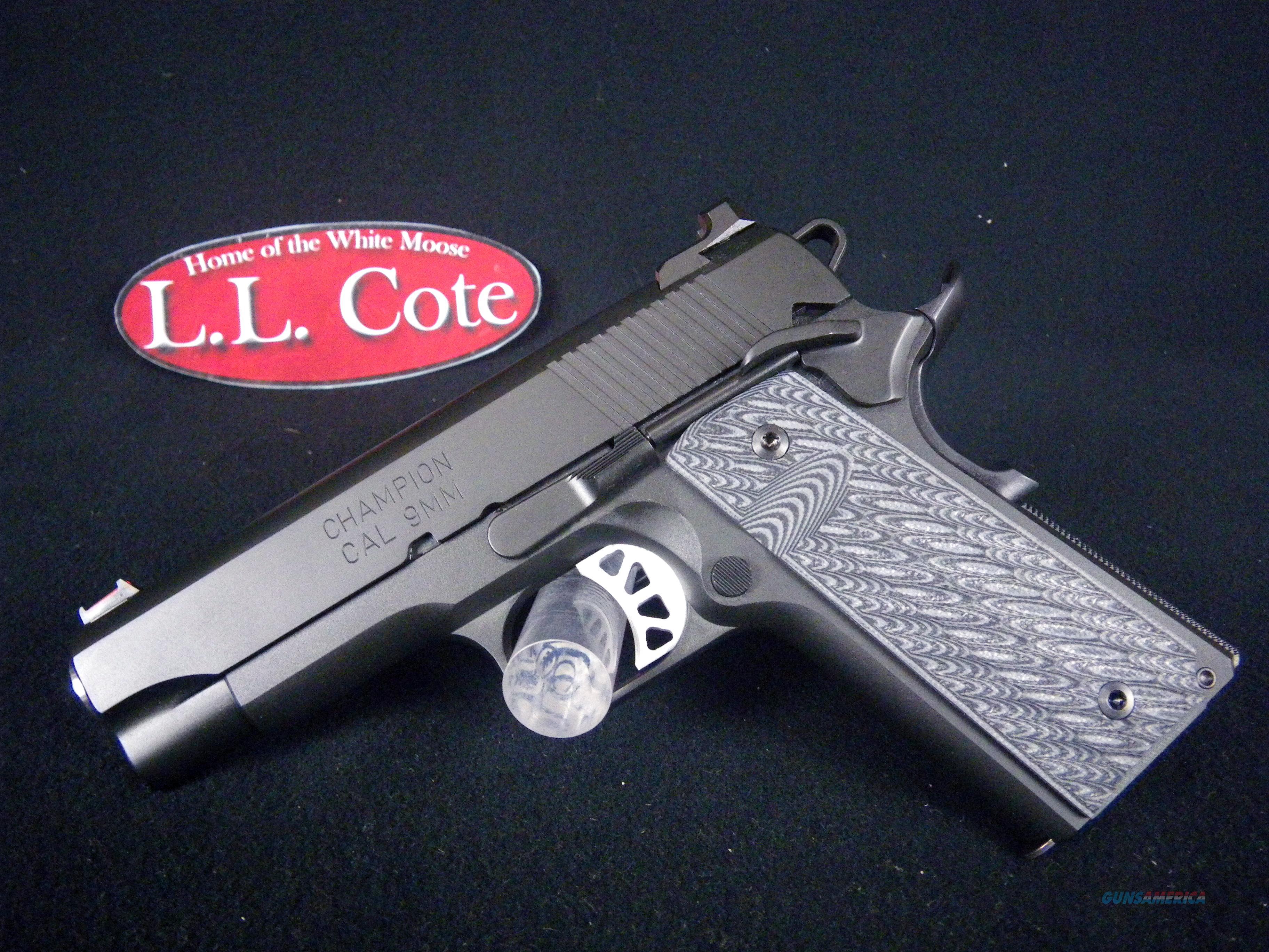 """Springfield 1911 Range Officer Elite Champion 9mm 4"""" NEW PI9137ER"""