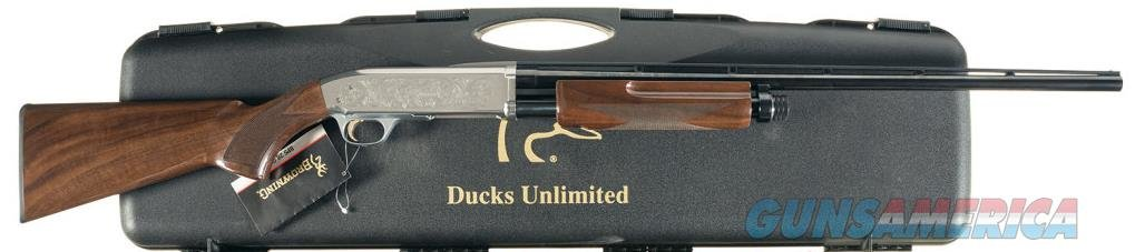 Ducks Unlimited 2002 Banquet Shotgun - 28 Gauge Browning BPS Reduced