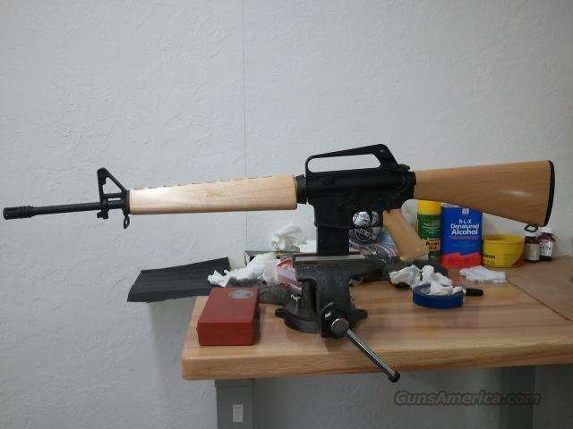 custom ar 15a1 with woodstock for sale