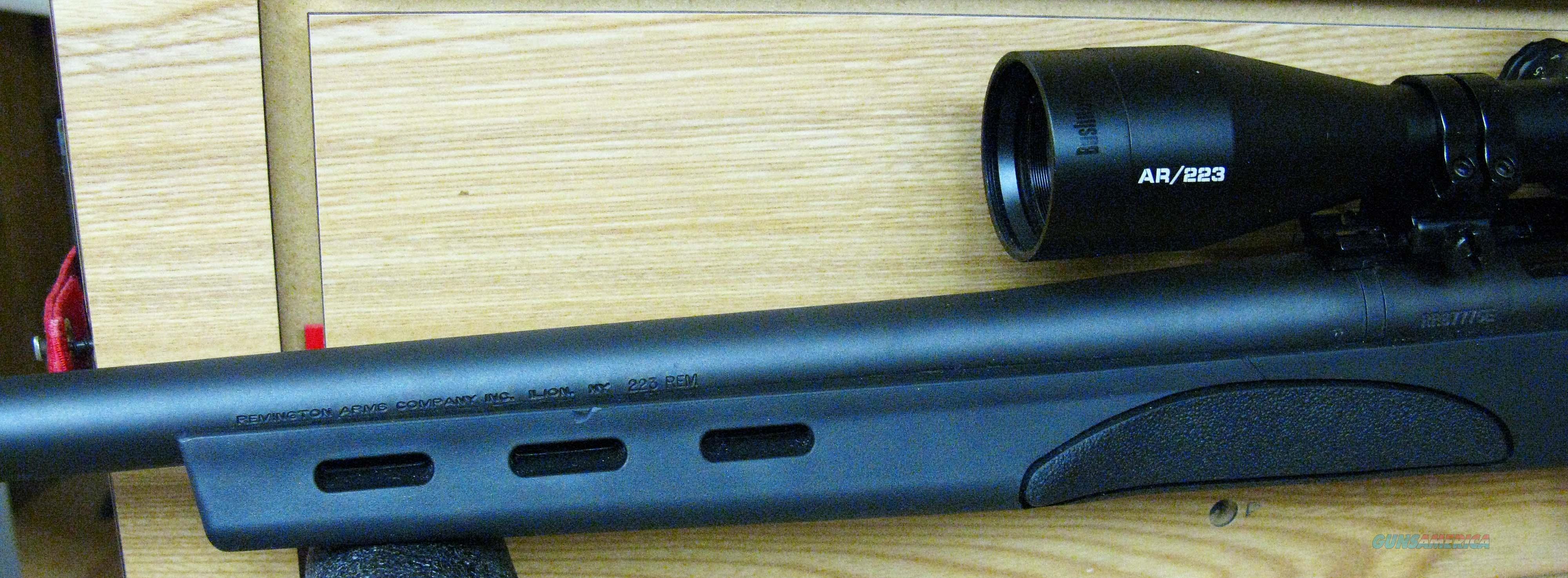 Description Shi... Remington 700 Adl 223 Twist Rate