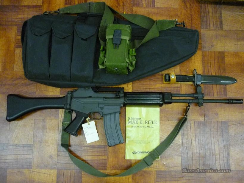 DAEWOO MAX 2 II 5.56 .233 Pre-ban Rifle for sale