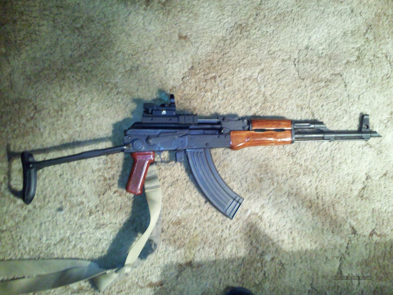 Romanian ak 47 wasr 10 underfold