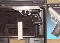 Sig Sauer P230 Stainless Steel - Unfired