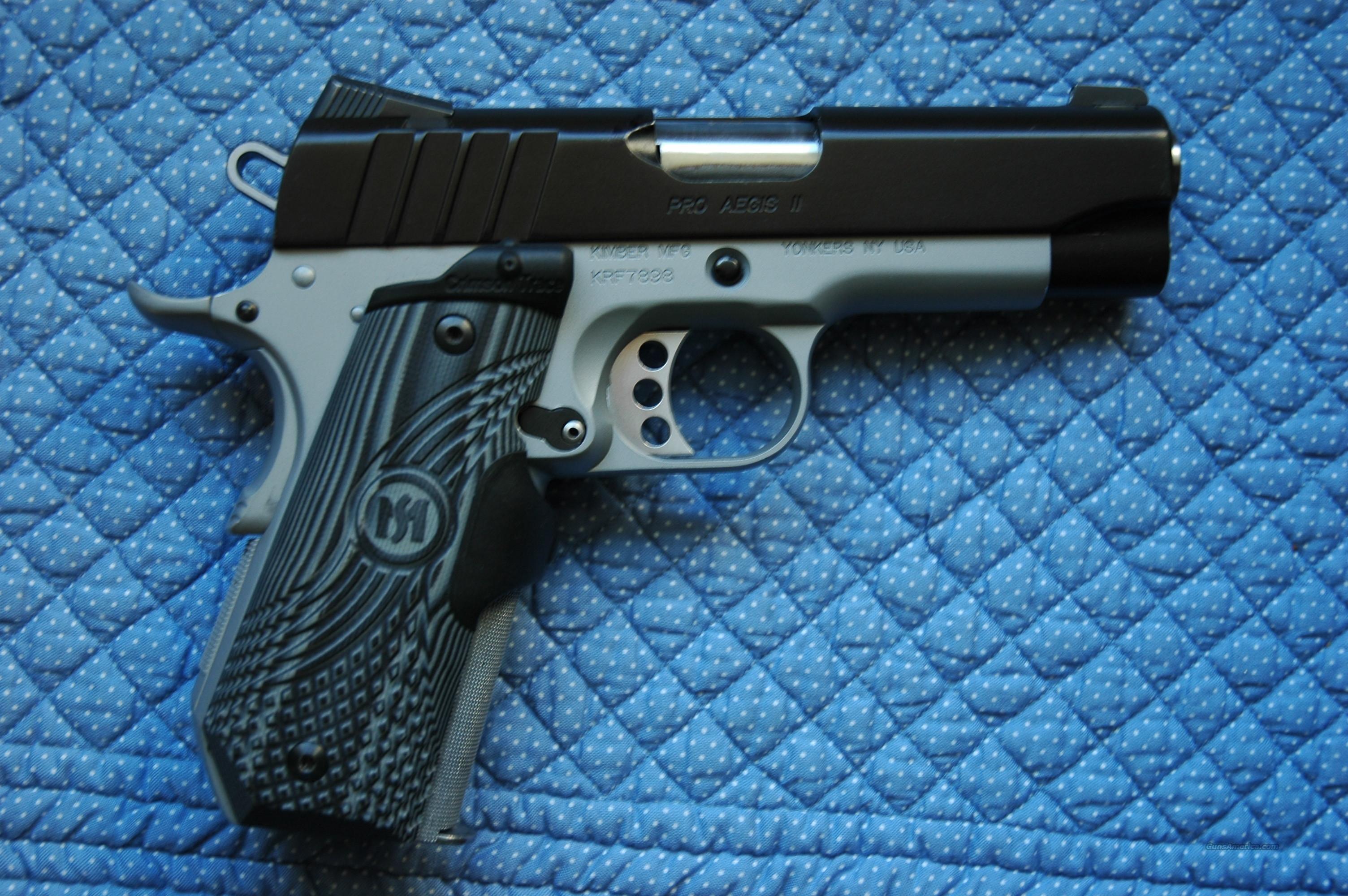Kimber Aegis 9mm bobtail custom