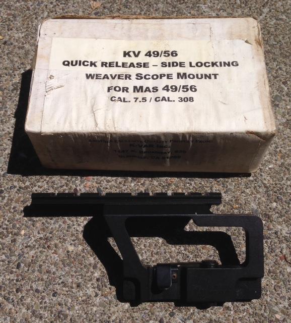 Mas 49/56 scope mount new old stock