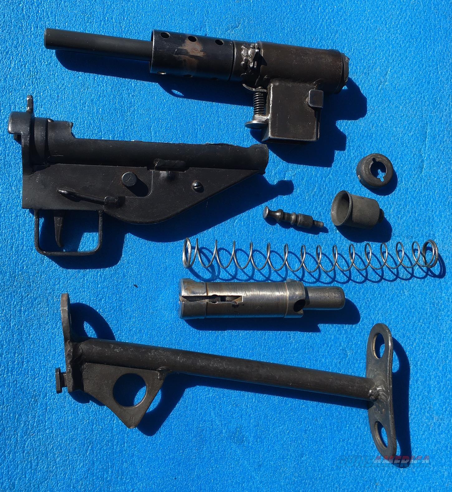 STEN MK2 British parts kit with new American barrel