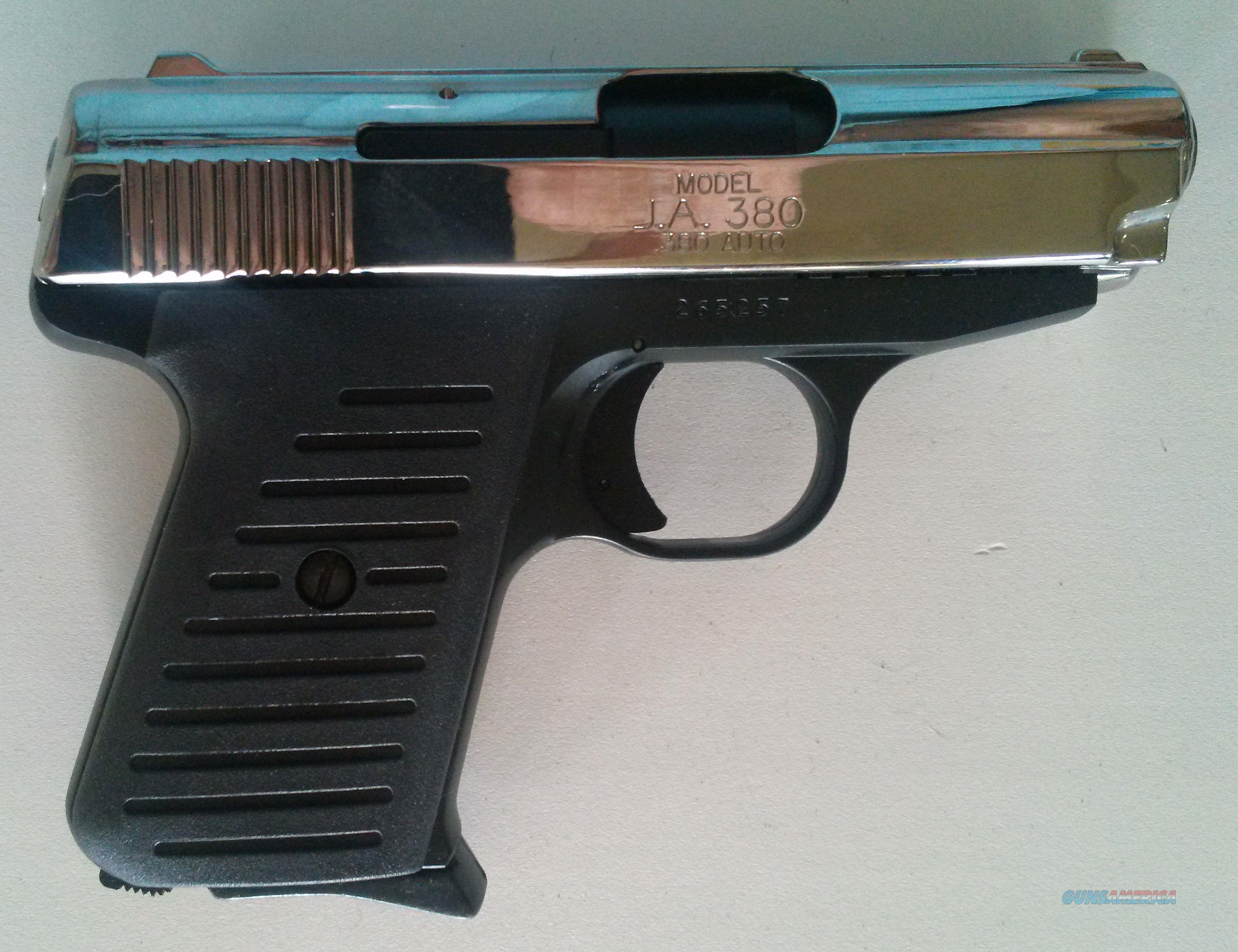 Jimenez Arms JA- 380 pistol (Two Tone)
