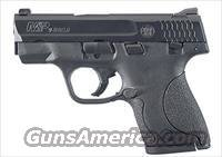 Smith & Wesson M&P Shield Pistol 180021, 9mm, 3.1 in, Polymer Frame, Black Melonite Finish, 7 and 8 Rd magazines