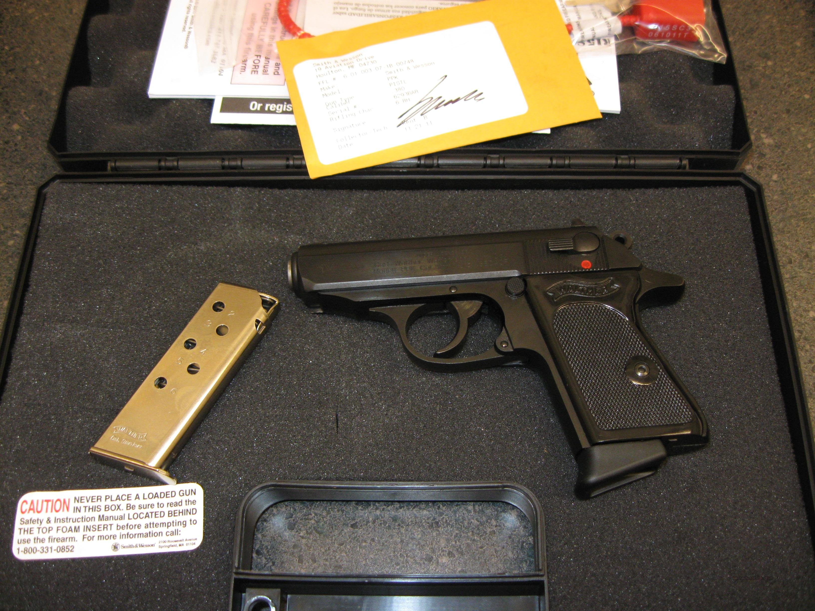 walther model ppk semi auto pistol vah38006 38 for sale rh gunsamerica com German Walther PPK 380 James Bond with Walther PPK S