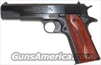 "Colt 1991 Government Pistol O1991, 45 ACP, 5"", Rosewood Grip, Matte Finish, 7 Rd"