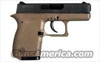 Diamondback DB9 Semi-Auto Pistol DB9FDE, 9mm, 3 in, Flat Dark Earth Grip, Black Finish, 6 Rd