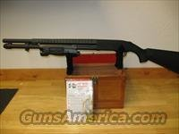 Mossberg 590 Pump Shotgun with Insight Light, 12 Gauge, 20 in, 3 in Chamber, Black Synthetic Stock, Heat Shield