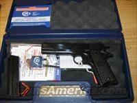 Colt Government Limited Ed Pistol 1 of 300 O2991GR, 38 Super, 5 in, Fancy Colt Logo Grip, Blue Finish, Novak Sights, 9 Rd, TALO EXCLUSIVE