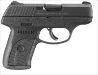 Ruger LC9S Striker Fire Pistol 3235, 9mm, 3.12 in, Black, High Performance, Integral Grip, Blue Finish, 7 Rd