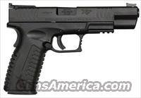"Springfield XDM Competition Series Pistol XDM952545BHC, 45 ACP, 5.25"", Black Polymer Grip, Black Finish, 13 Rd"
