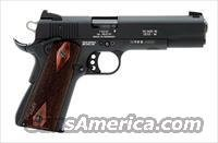 Sig 1911-22 Pistol 191122B, 22 Long Rifle, 5 in, Wood Grip, Black Finish, Contrast Sights, 10 Rd