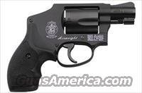 Smith & Wesson 442 Revolver 150544, 38 Special, 1 7/8 in, Synthetic Grip, Matte Black Finish, Integral/Fixed Sights, 5 Rd