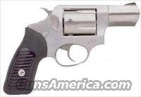 Ruger KSP-821X Revolver 5737, 38 Special, 2 1/4 in, Rubber Grip, Satin Stainless Finish, 5 Rd, Fixed Sights
