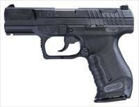 Walther P99AS Anti Stress Pistol 2796325, 9mm, 4 in, Polymer Grip, Black Finish, 15 Rd