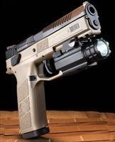 CZ-USA CZ P-09 DUTY 9MM FDE 19+1 with Tactical Light
