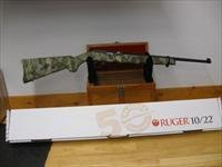 RUGER 10/22 RIFLE, 22LR, WOLF PATTERN CAMO, 11171, LIMITED EDITION