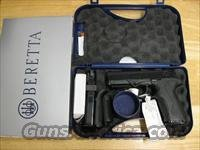 "Beretta Px4 Storm Double/Single Action Pistol JXF9F21, 9mm, 4"", Polymer Grip, Black Matte Finish, 17 Rd"