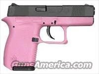 Diamondback DB9 9mm Pistol DB9HP, 9mm, 3 in, Pink Polymer Grip, Black Finish, 6 Rd