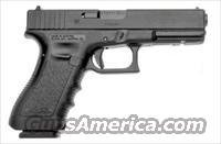 Glock 31 Standard Pistol PI3150201, 357 SIG, 4.49 in, Polymer Grip, Black Finish, Fixed Sights, 10 Rd